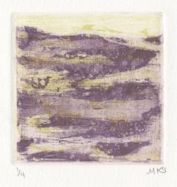 """""""Acrid Ocean"""" Intaglio, 2011"""