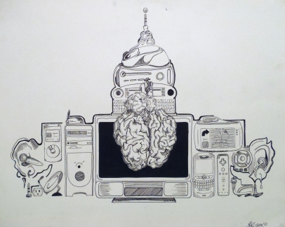"""Capital Technology"", Ink, 2010"
