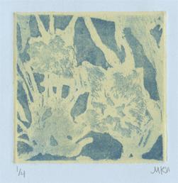 """Cluster"" Intaglio, 2011"