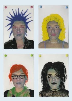 """Identity vs. Stereotype"" Screenprint, 2011"