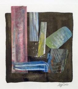 """""""Masonic Transition"""" Mixed Media, 2010"""
