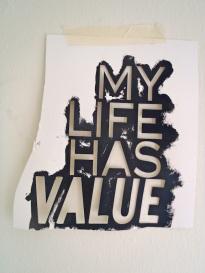 Musing #1, Cut Paper, 2012