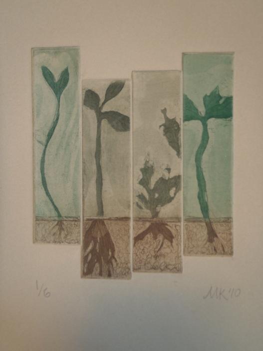 """Growth"" Intaglio, 2010"