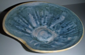 """Bowl with Cut"", 2012"