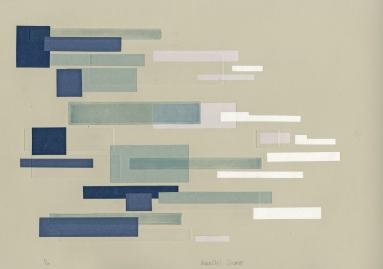 """""""Parallel Shore"""" Intaglio and Chine Cole, 2011"""
