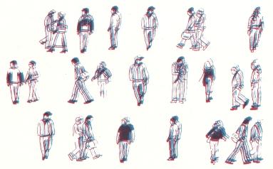Commute Series, Screenprint, 2011