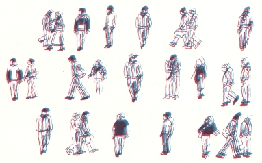 Commute Series, Screenprint, 2011
