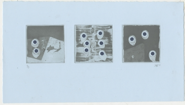 """Story with Holes"" Intaglio, 2011"